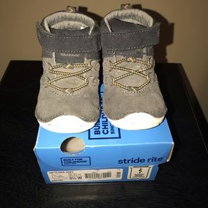 Stride Rite Boys Walking Boots